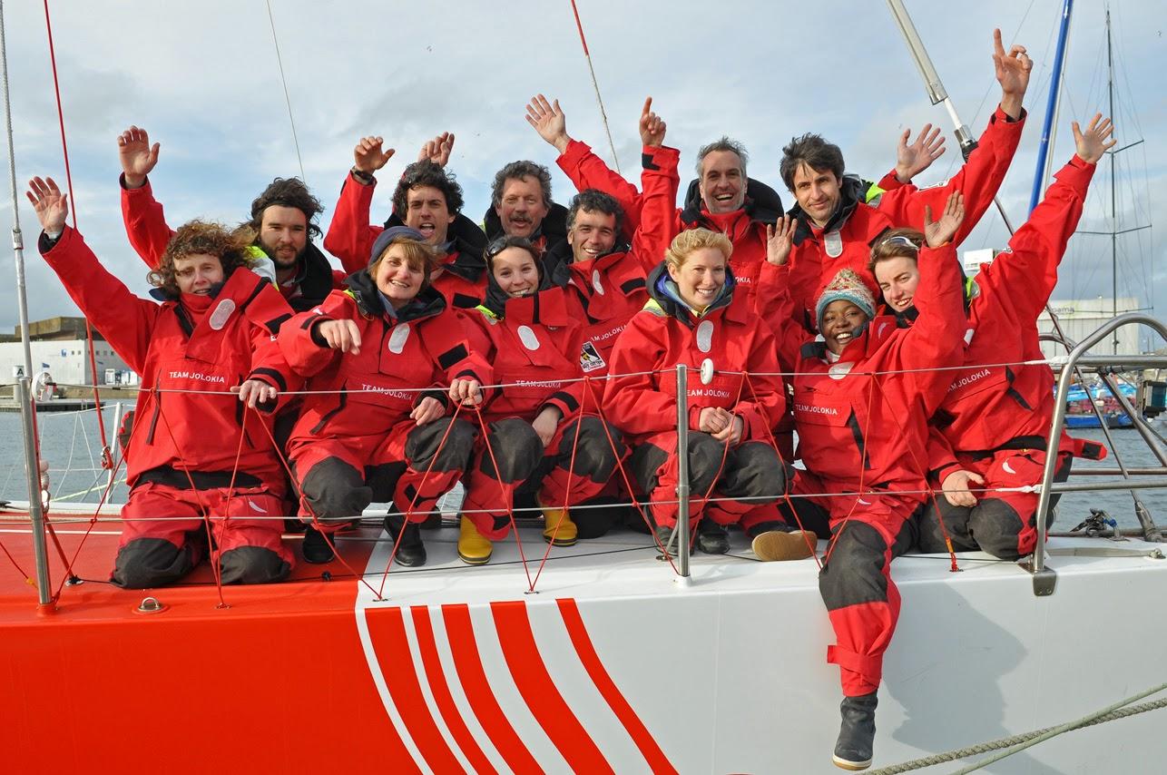 VO60 Team Jolokia © Martin Coudriet/Team Jolokia