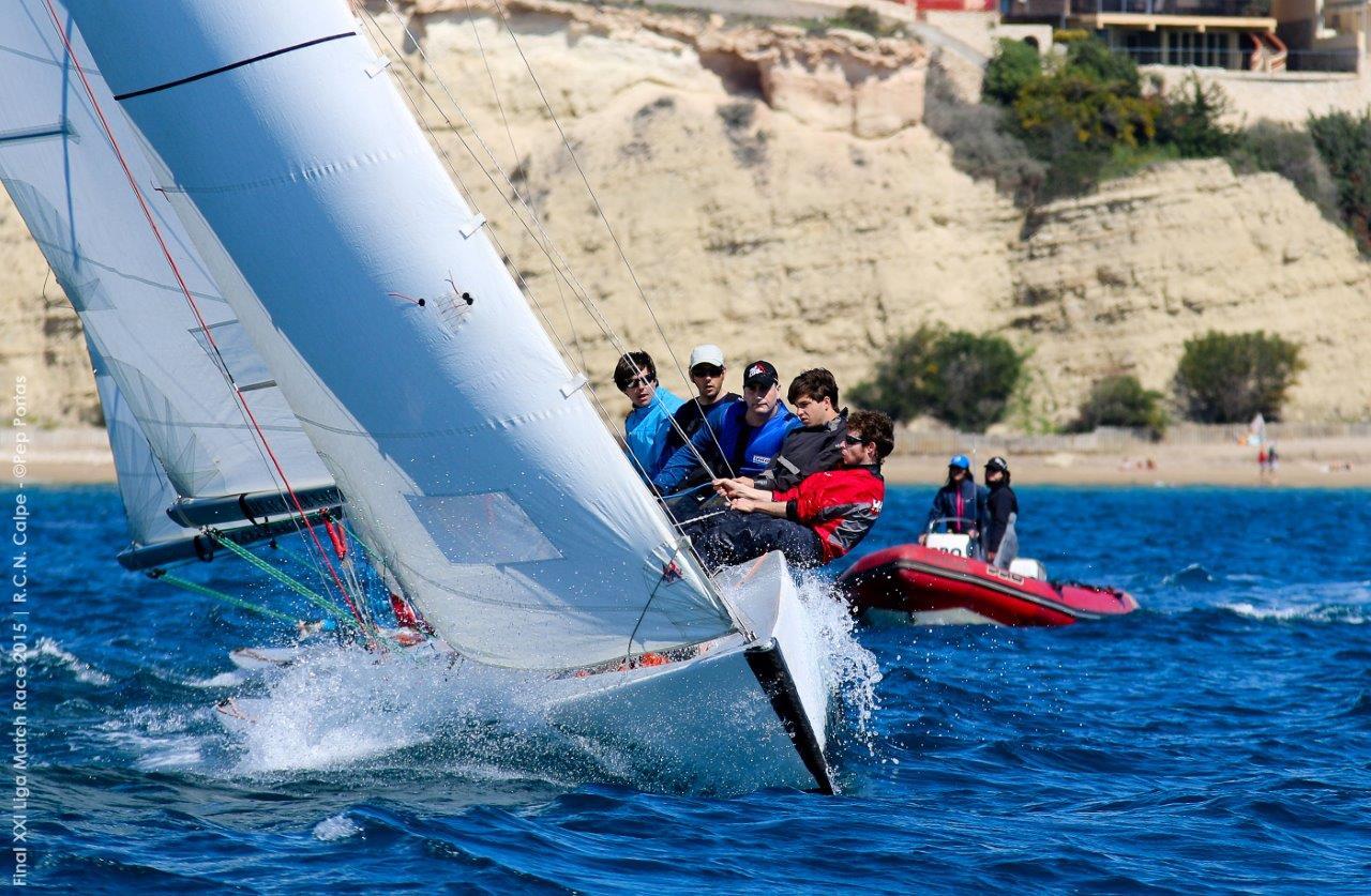 © XXI Final Match Race FVCV © Pep Portas