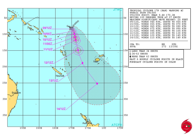 © Joint Typhoon Warning Center