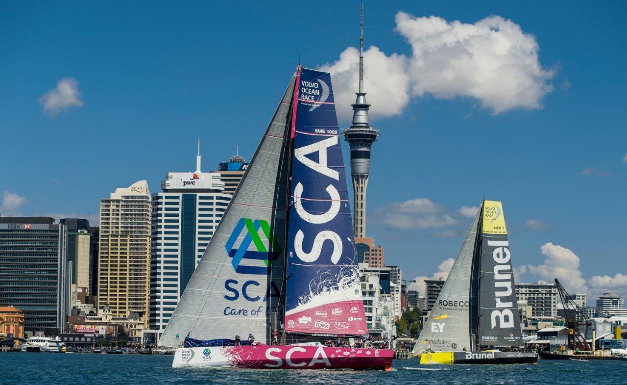 Team SCA © Victor Fraile / Volvo Ocean Race