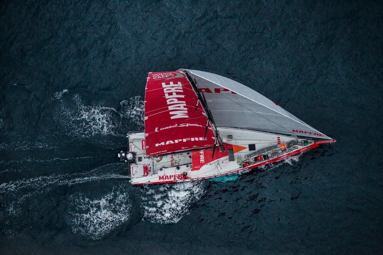 El barco español 'MAPFRE' © Ainhoa Sanchez/Volvo Ocean Race
