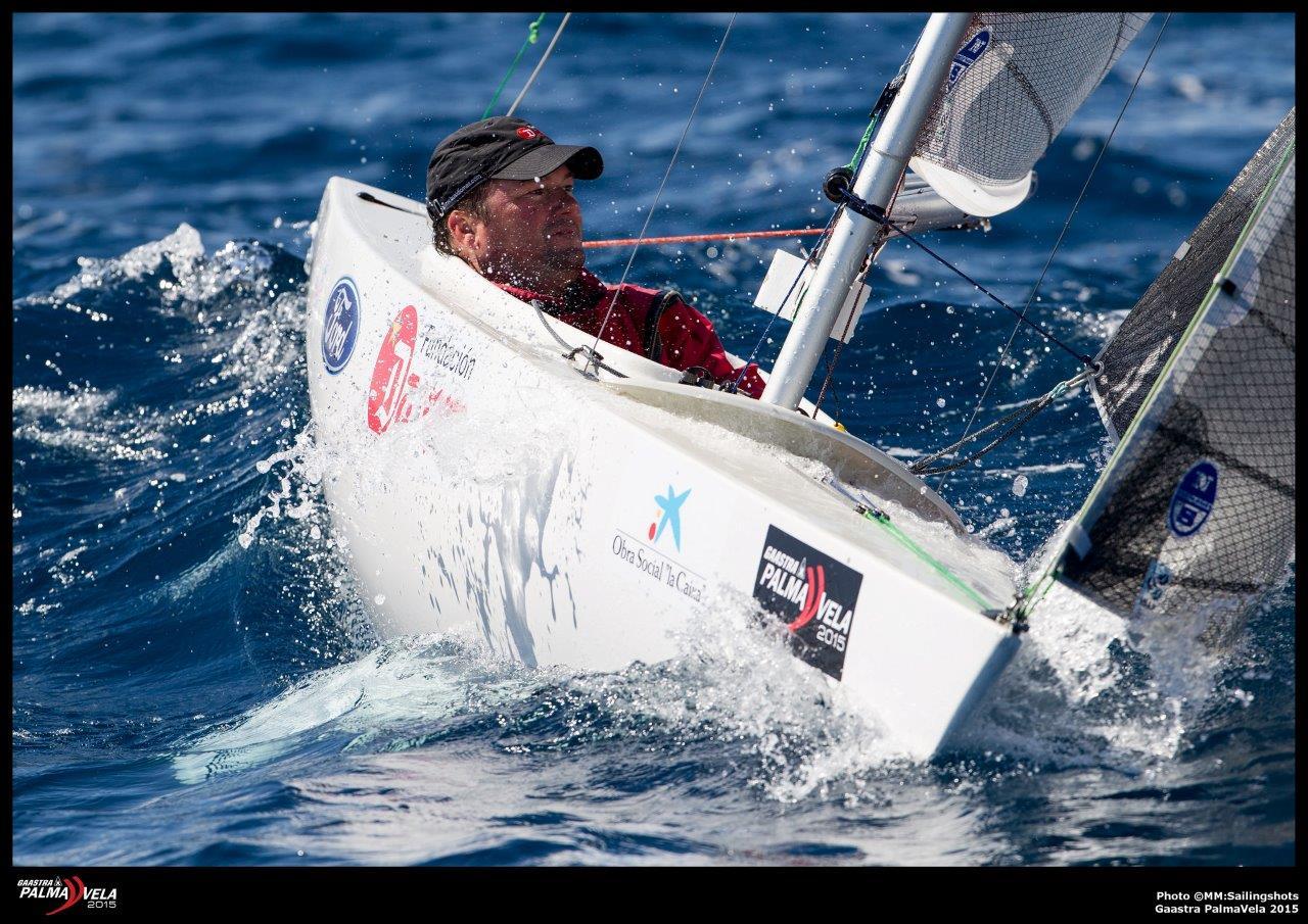 Arturo Montes, campeón en 2.4 © MM Sailingshots/Gaastra PalmaVela
