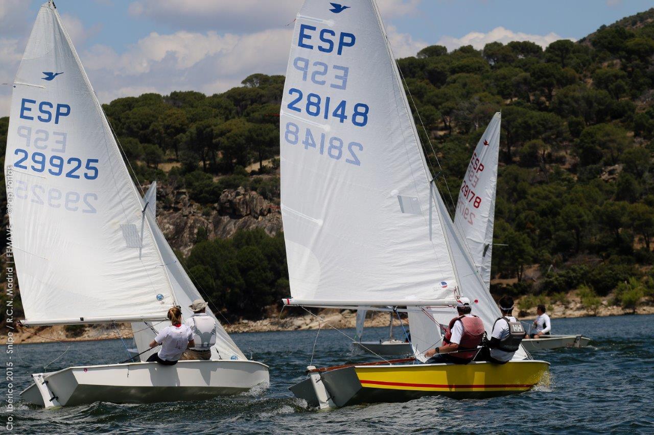 Un momento de la regata © Pep Portas/FEMAVE