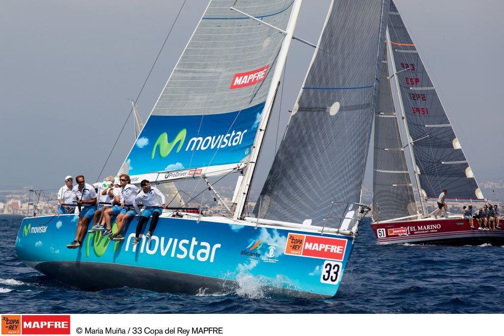 """El """"Movistar"""", actual campeón del mundo de ORC B será el rival a batir en la 34 Copa del Rey MAPFRE"""