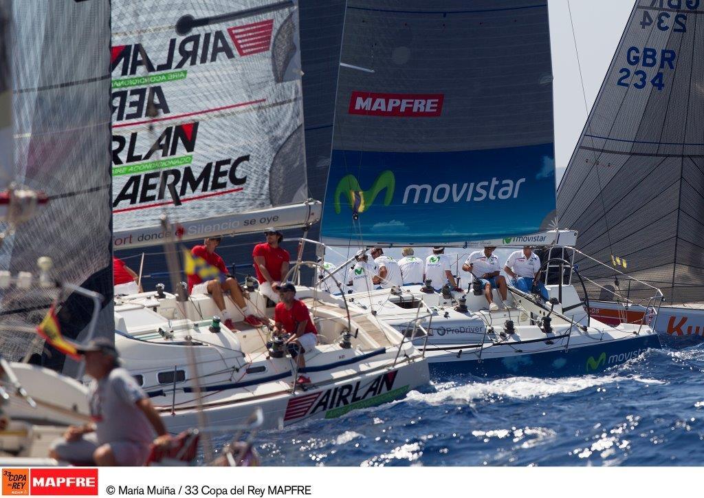 La flota de ORC durante la pasada edición de la cita que organiza el Real Club Náutico de Palma