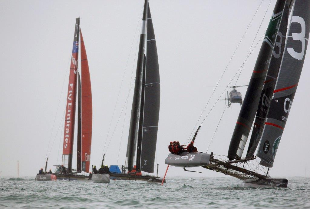 Regata entrenamiento Louis Vuitton America's Cup World Series Portsmouth © Lloyd Images