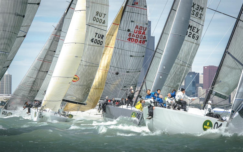 La flota en acción © Kurt Arrigo/Rolex
