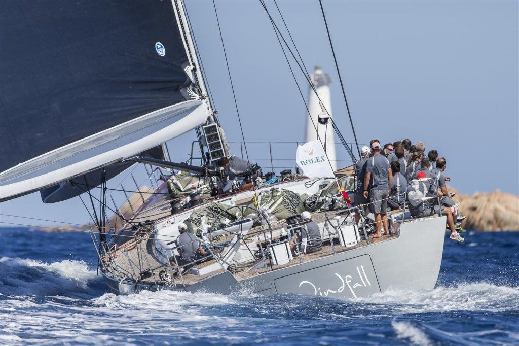 El Swan 42 WINDFALL, ganador en la división Maxi © Carlo Borlenghi/Rolex