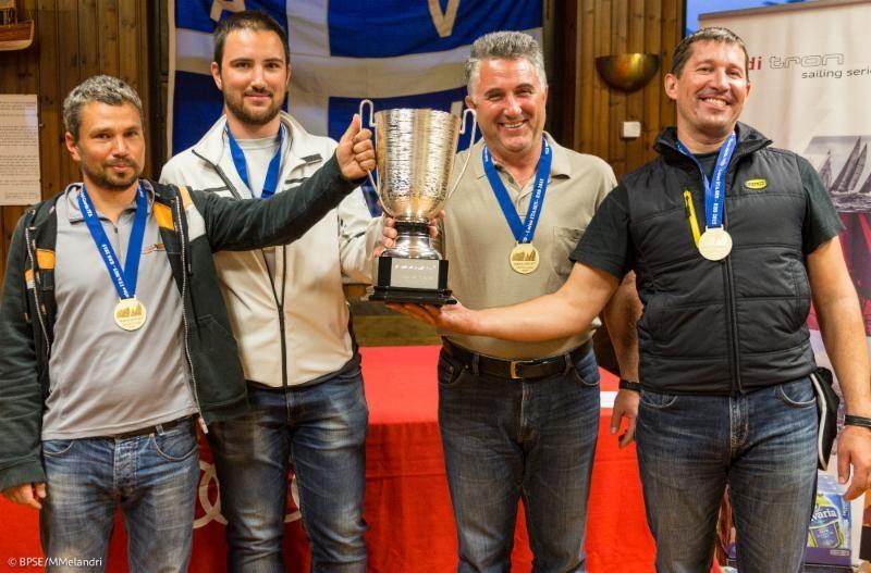 Marusia de Oleg Dyvinets ganador de las  Melges 24 European Sailing Series del 2015, División Pro-Am © Mauro Melandri/BPSE