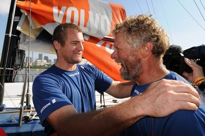 Richard Mason y Magnus Olsson © Dave Kneale/Volvo Ocean Race