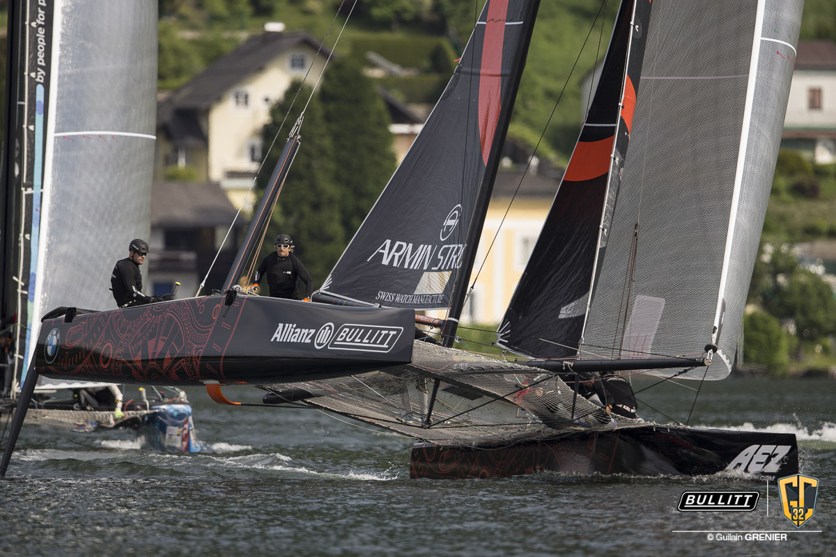 BULLITT GC32 RACING TOUR - Austria Cup - Racing Day 2 - 29th May 2015 - Gmunden (AUS)
