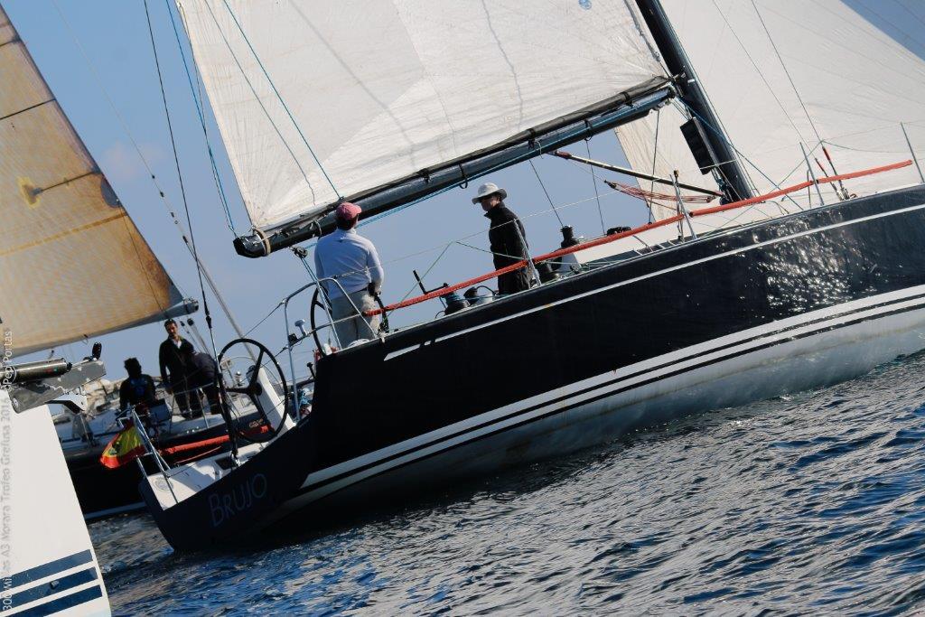 El Swan 42 Brujo se sube al 2º cajón del podio © Pep Portas / CN Moraira
