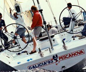 El 'GALICIA 93-PESCANOVA' en la Whitbread 1993-1994