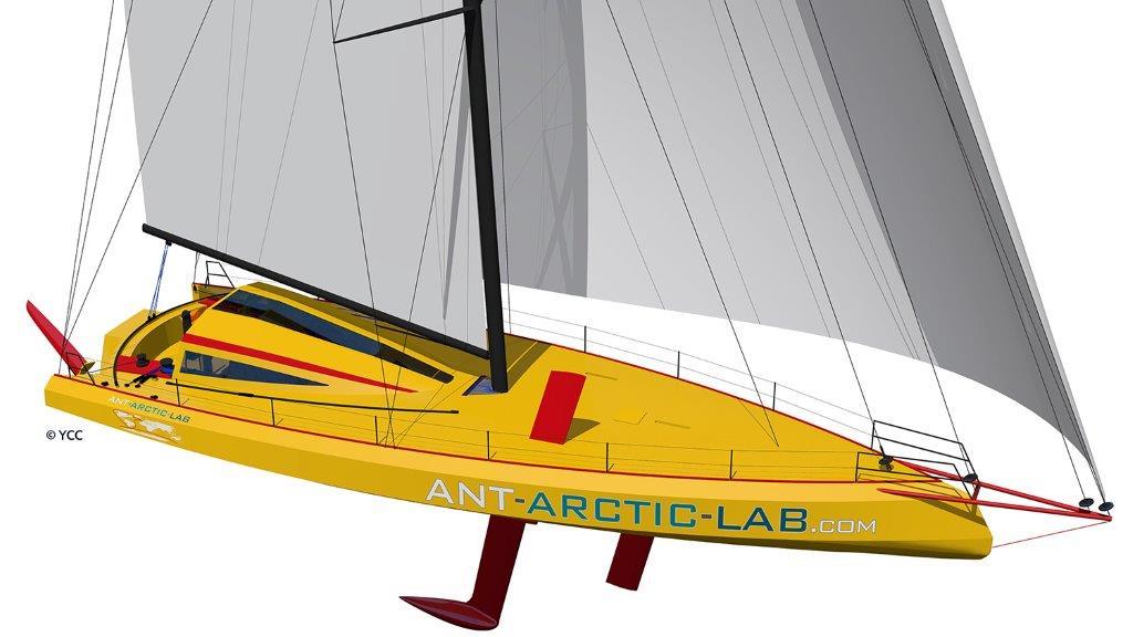 OPEN 60 ANT-ARCTIC-LAB © Norbert Sedlacek