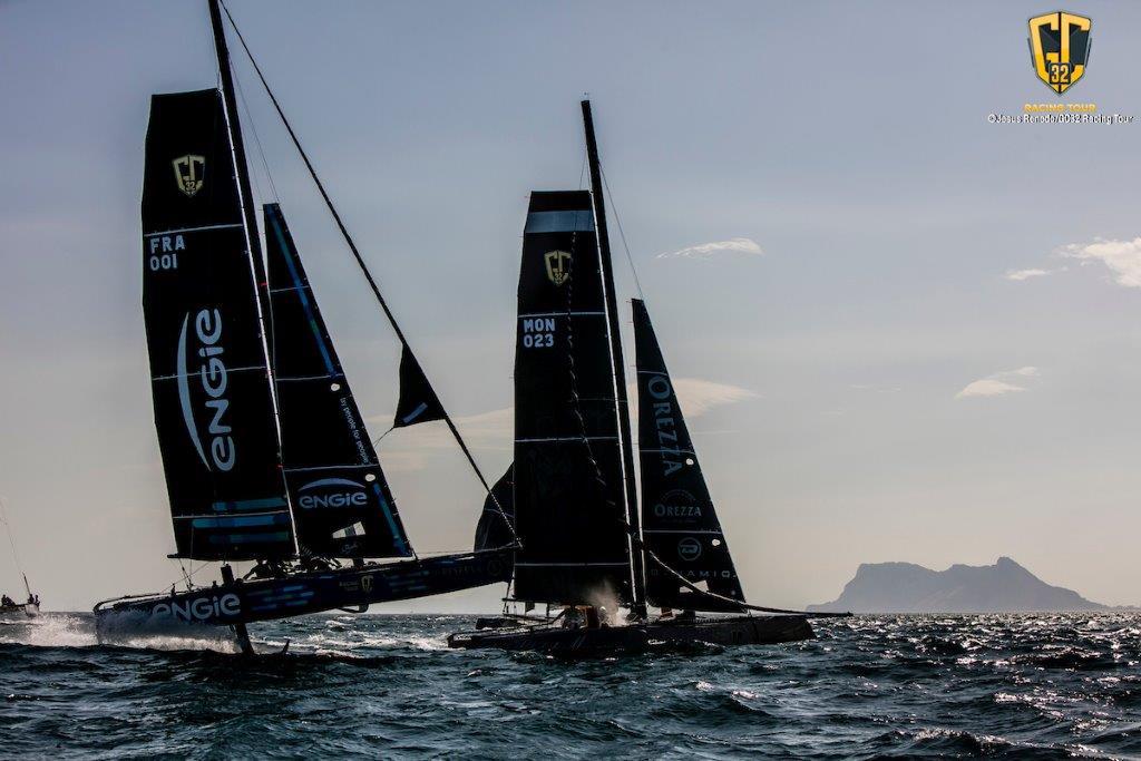 Team ENGIE y Malizia - Yacht Club de Monaco © Jesus Renedo/GC32 Racing Tour