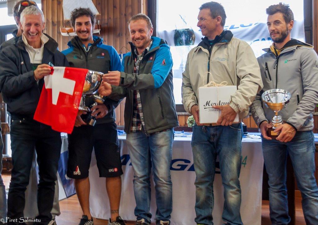 EFG Team con el tandem Fracassoli-Ferraglia ganador del campeonato suizo © IM24CA/Piret Salmistu