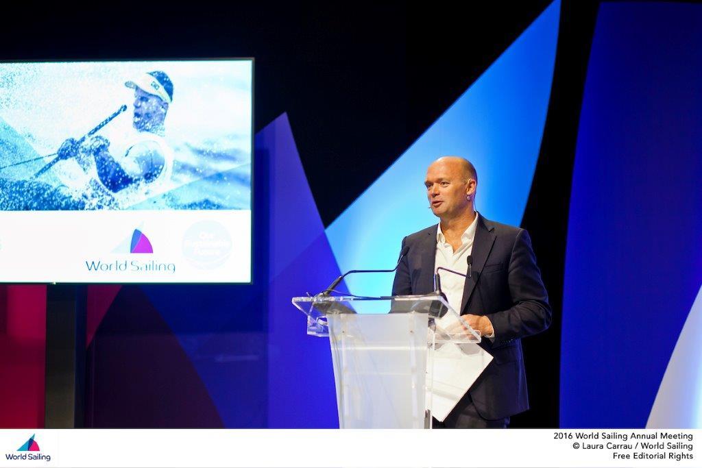 Mark Turner CEO de la Volvo Ocean Race