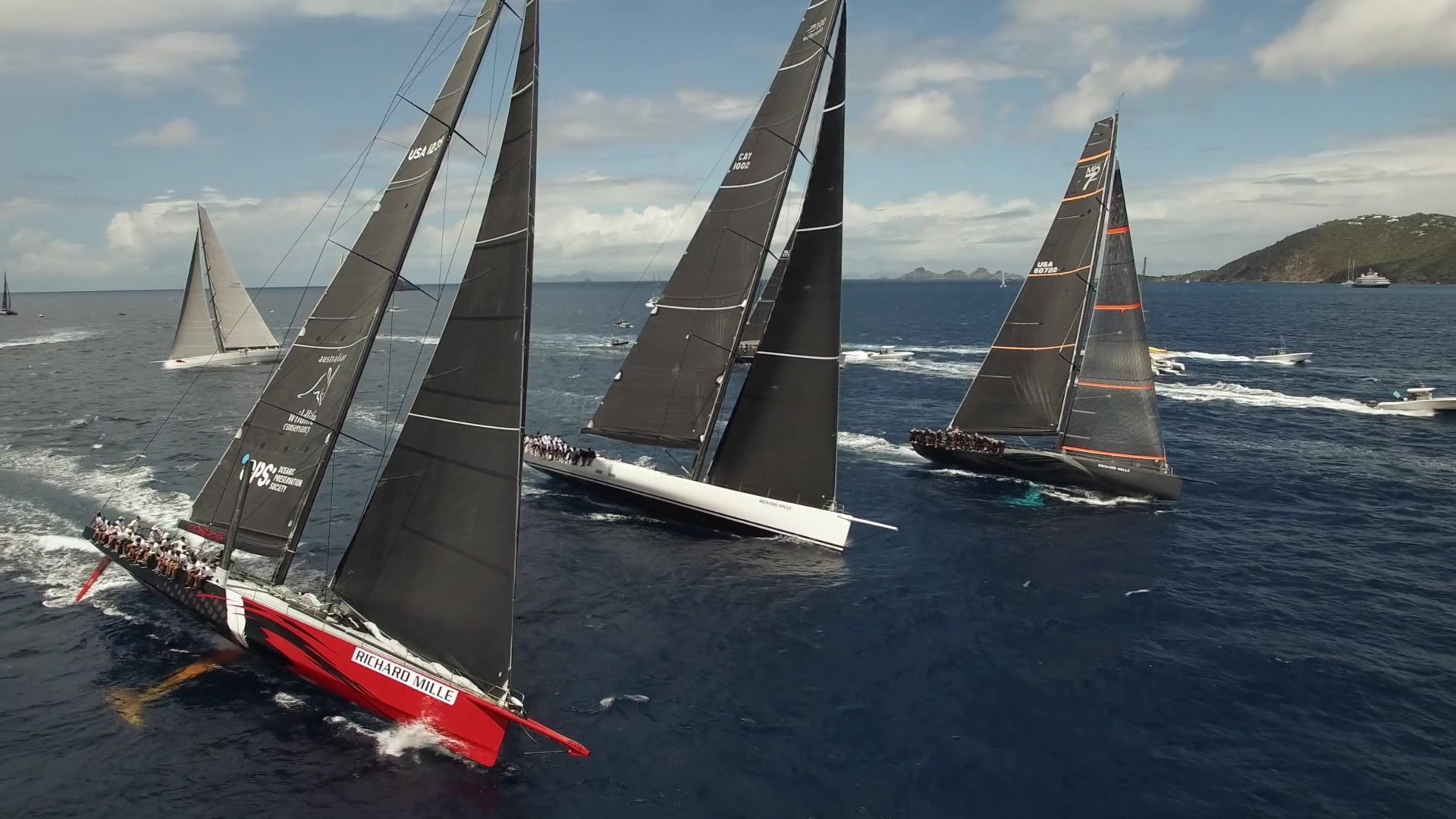 VIDEO: Best Of – Les Voiles de St Barth 2016