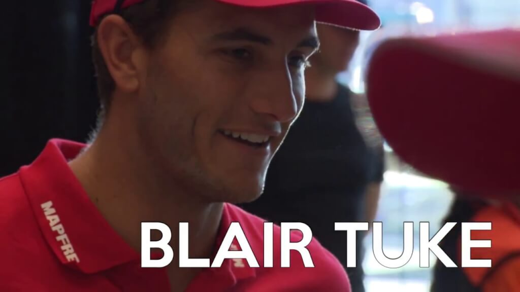 VIDEO: Blair Tuke, nuevo tripulante del MAPFRE para la Volvo Ocean Race