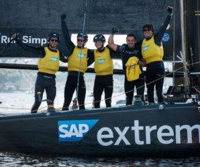 SAP Extreme Sailing Team triunfa en Cardiff y lidera las Extreme Sailing Series™ 2017