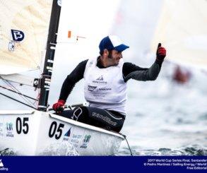 Alejandro Muscat, campeón de España de la clase Finn