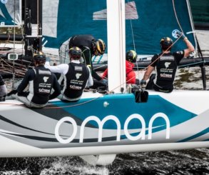 Oman Air consigue la victoria en Hamburgo y sube a lo más alto de la clasificación de Extreme Sailing Series™ 2017