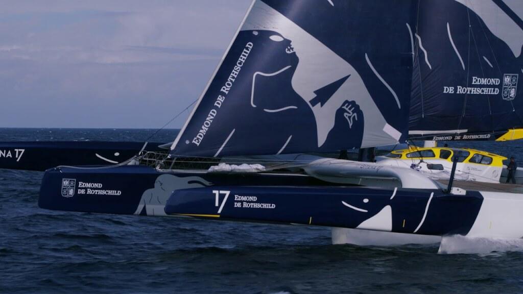 VIDEO: Maxi Edmond de Rothschild: ¡El vuelo de las 5 flechas!