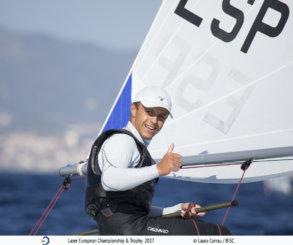 Marcelo Cairo, campeón de Europa sub 21 en Laser Radial masculino