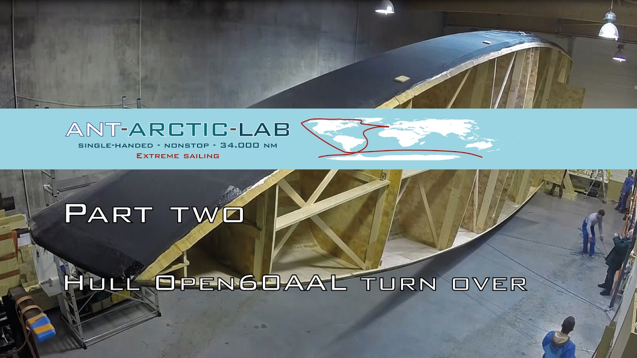 VIDEO: ANT-ARCTIC-LAB, construcción del casco