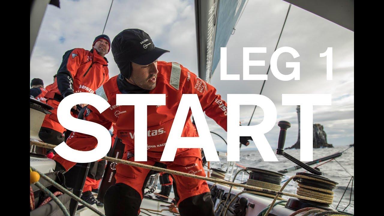 VIDEO: Resumen de la salida de la Etapa 1 de la Volvo Ocean Race