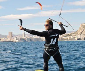 Alejandro Climent gana las Formula Kite Spain Series Alicante 2018