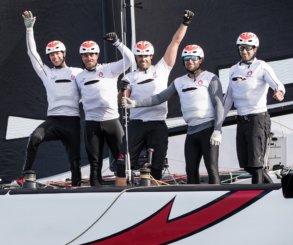 Alinghi se corona campeón del Acto 1, Muscat de Extreme Sailing Series™