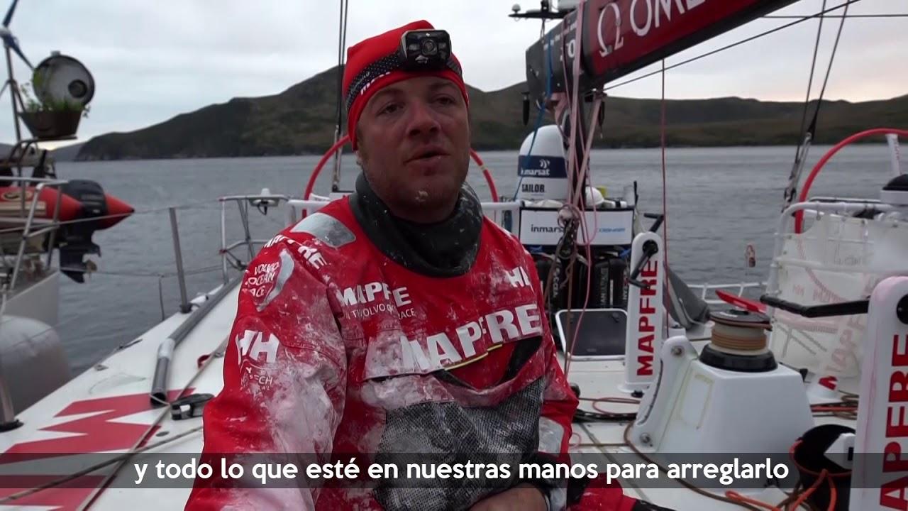 VIDEO: Así fue la reparación del MAPFRE
