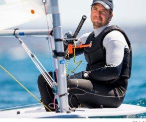 Joaquín Blanco mantiene el liderato de los Laser Standard en los Juegos Mediterráneos
