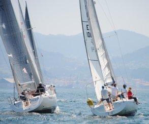 Fuerza Cuatro, Argalleiro, Travesío La Riviere y Cassandra primeros líderes en la Combarro Cruising Sail