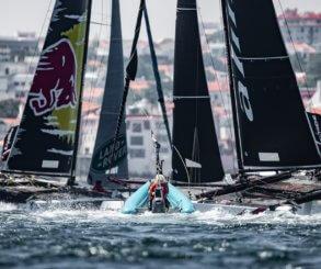 Alinghi vence el cuarto Acto de las Extreme Sailing Series™ en Cascais