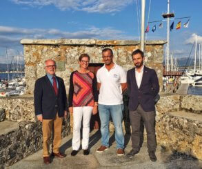 La presidenta de la Royal Yacht Association estrecha lazos con el Monte Real Club de Yates