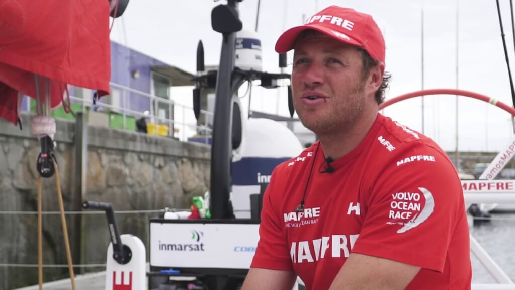 VIDEO: Regreso a casa del MAPFRE