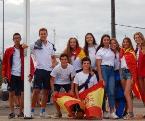 Buenos resultados para los españoles en el mundial de Techno 293 y el europeo de 29er