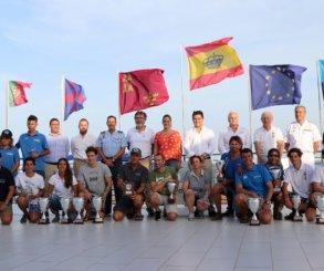 Los canarios Gustavo y Rafael del Castillo se proclaman campeones de España de Snipe