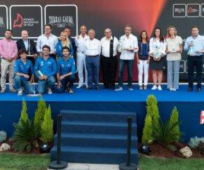 El Monte Real entregó los Premios Nacionales de Vela Terras Gauda 2018