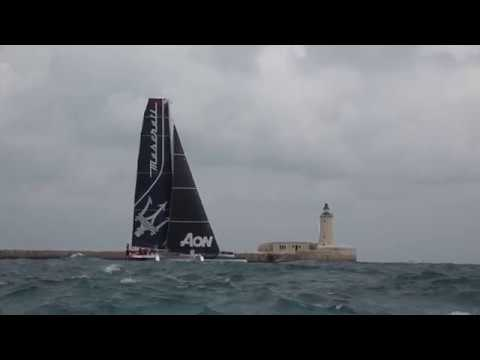 VIDEO: Salida del Maserati en la Rolex Middle Sea Race