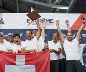 Alinghi gana la temporada 2018 de las Extreme Sailing Series™ en Los Cabos