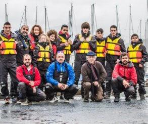 El Monte Real estudia los beneficios de la náutica  para tratar problemas graves de conducta