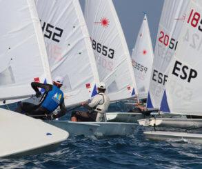Más de 500 regatistas brillan en la Comunitat Valenciana Olympic Week 2020