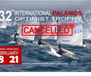 Cancelado el 32 International Palamós Optimist Trophy debido a la COVID-19