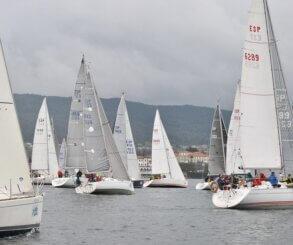 La Regata Interclubes Ría de Pontevedra corona a los vencedores de su 7ª edición