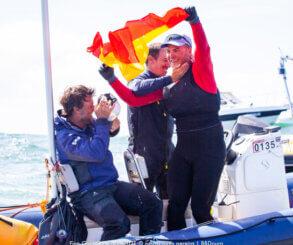 España consigue la plaza olímpica para la clase Finn y Joan Cardona el subcampeonato del mundo